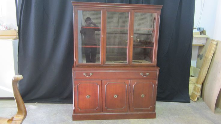 The Fruno's project: #hutch & #buffet to be #refinished by AM Furniture Finishing