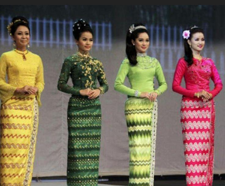 Myanmar wear