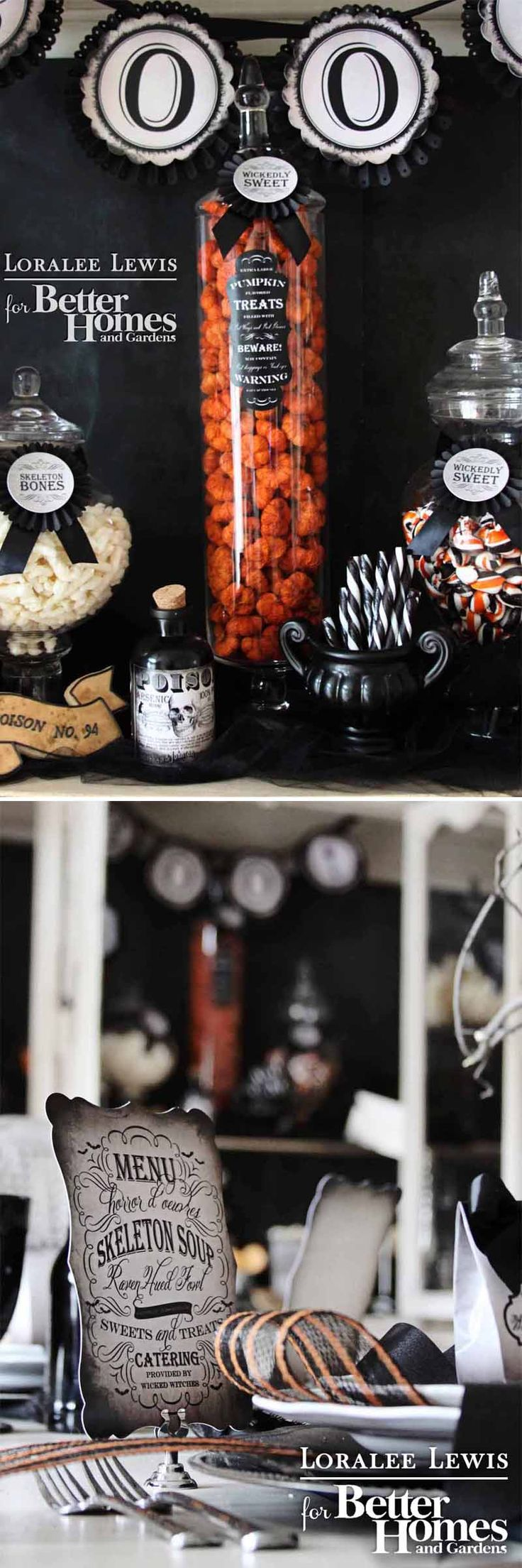 579 best Free - Printables parties - Halloween images on Pinterest