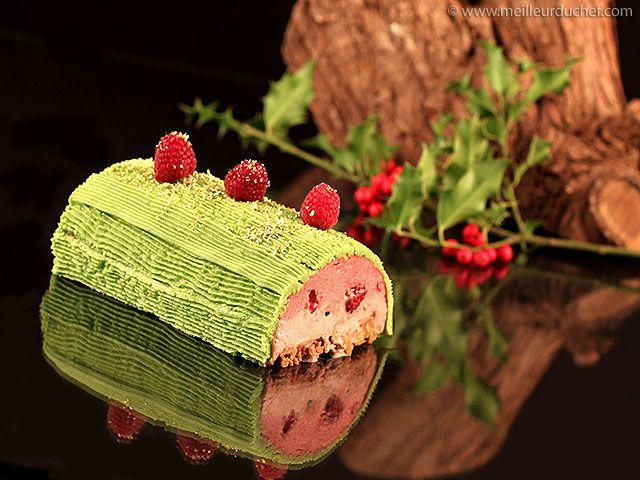 Bûche de Noël fraises/framboises - Meilleur du Chef