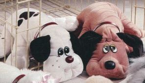 Pound Puppies!! My one and only pupply love!! Mine was Hughie.