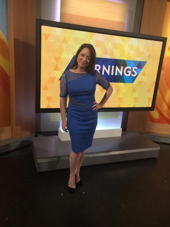 Mandy Mcelhinney on the Morning Show in Montique #fashion #style #montique