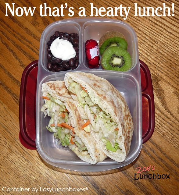 Pack lunch for work? Here's a hearty idea featured on Zoe's Lunchbox