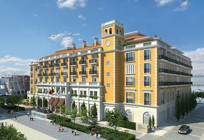Construction is underway on the Regent Porto Montenegro hotel in Tivat, Montenegro, designed by ReardonSmith Architects