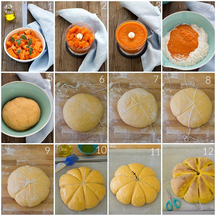 tutorial pumpkin bread _pane_alla_zucca