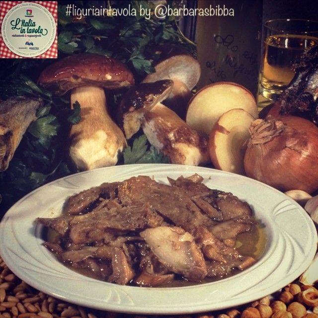 """Ecco un'altra ricetta della tradizione ligure del Ponente: lo """"stoccafisso alla badalucchese"""" #italiaintavola #liguriaintavola #italianfood #traditionalfood #italy #Liguria"""
