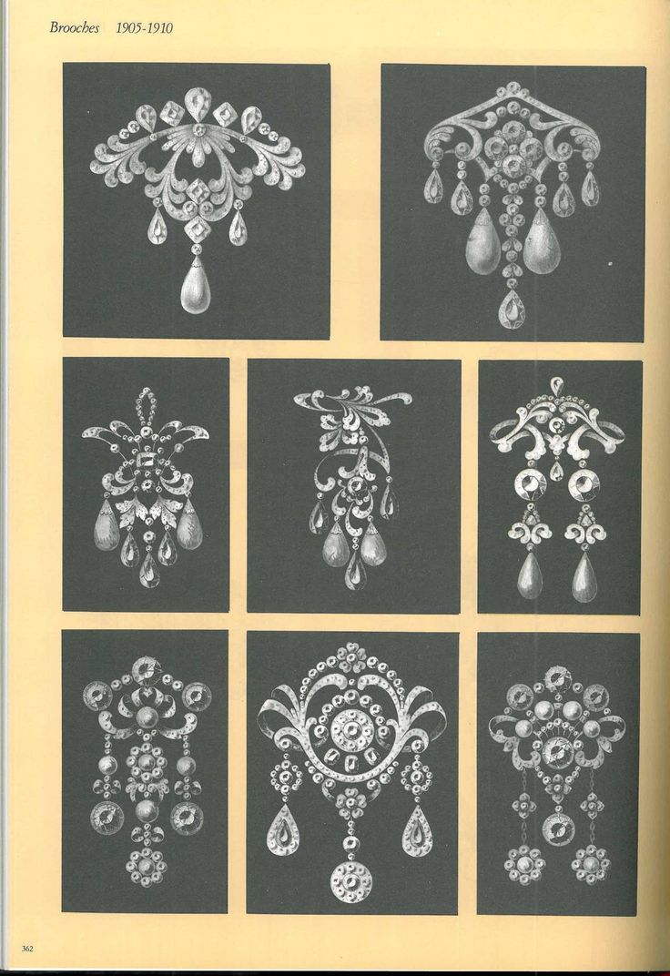 Book of Kochert - Imperial Jewellers in Vienna - Jewellery Designs 1810-1940 image 8
