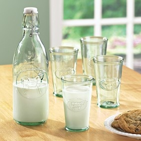 Why don't they sell milk in bottles like this?