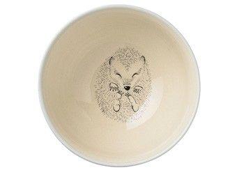keramieken bowl met slapend egeltje 'Skyblue' Bloomingville | kinderen-shop Kleine Zebra