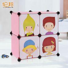 bambino guardaroba eco - friendly semplice vestiti del bambino di stoccaggio giocattolo armadietto ls220 fresco(China (Mainland))