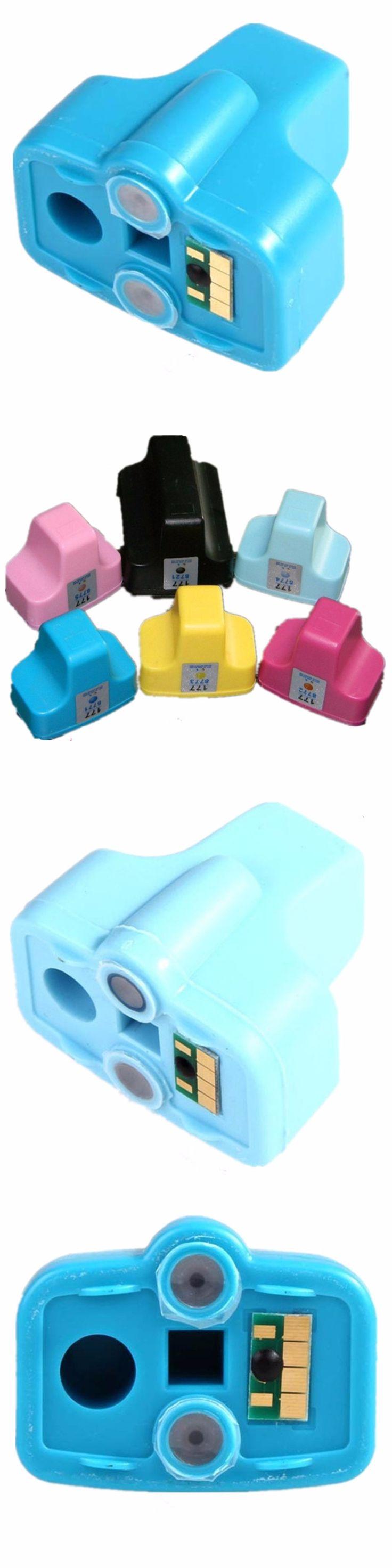6 Pcs Ink Cartridges For HP 177 XL HP177 HP177XL 177XL Smart C5183 C5185 C5188 C5190