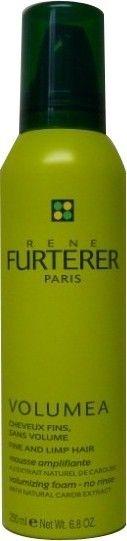VOLUMEA Mousse amplifiante de René FURTERER, le rituel d'exception capillaire pour apporter volume et texture aux cheveux fins.