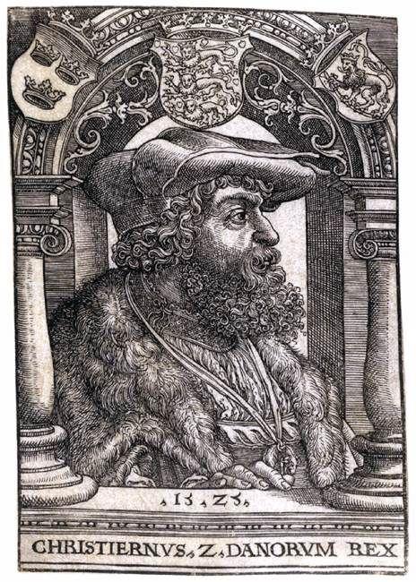 Ο βασιλιάς της Δανίας Χριστιανός ΙΙ (1525)