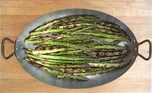 Forget steaming - bring out the best of asparagus on the grill: Grilled Asparagus