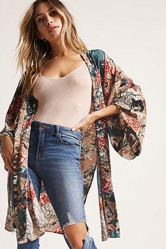 Kimonos + Women's Blazers | Capes, Floral Kimonos + More | Forever 21 | Forever21