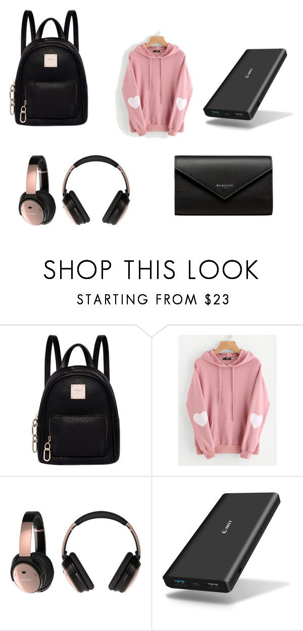 """Untitled #46"" by palaghia-teona on Polyvore featuring beauty, Fiorelli, WithChic, Bose, Samsung and Balenciaga"