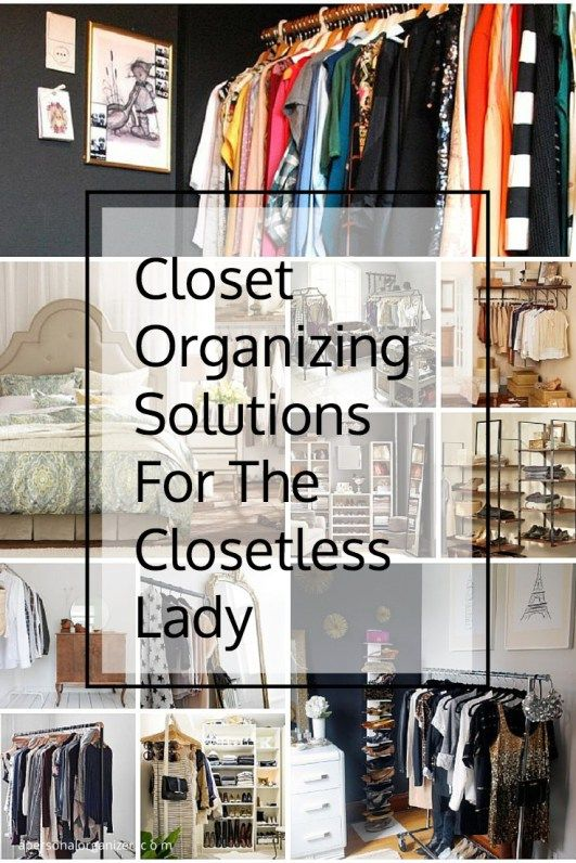 Closet organizing ideas the no closet solution closet for No closet solutions