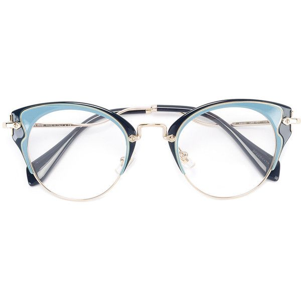 miu miu eyewear cat eye glasses 351 liked on polyvore
