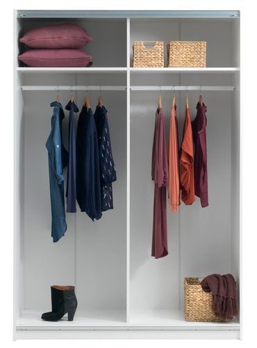 Garderob SATTRUP 150x219 högglans/ek