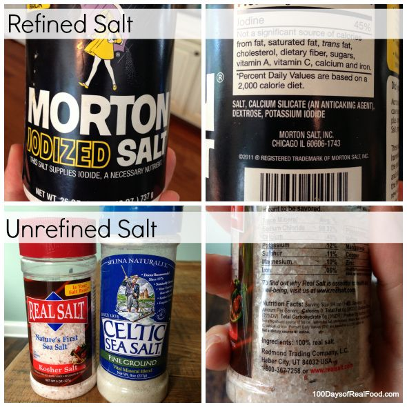 Sodium is Essential (in the right quantity) - But Not All Salt is Created Equal - 100 Days of Real Food