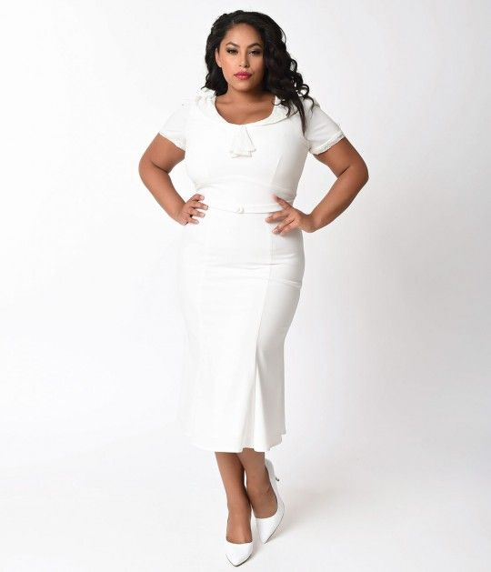 This beauty can only be found here, dears! The Stop Staring! Ivory  Railene Dress is the perfect mix of demure and posh. Its smart, ladylike and incredibly blissful. The classic ivory stretch fabric offers a curve-hugging fit and limitless movement, whil