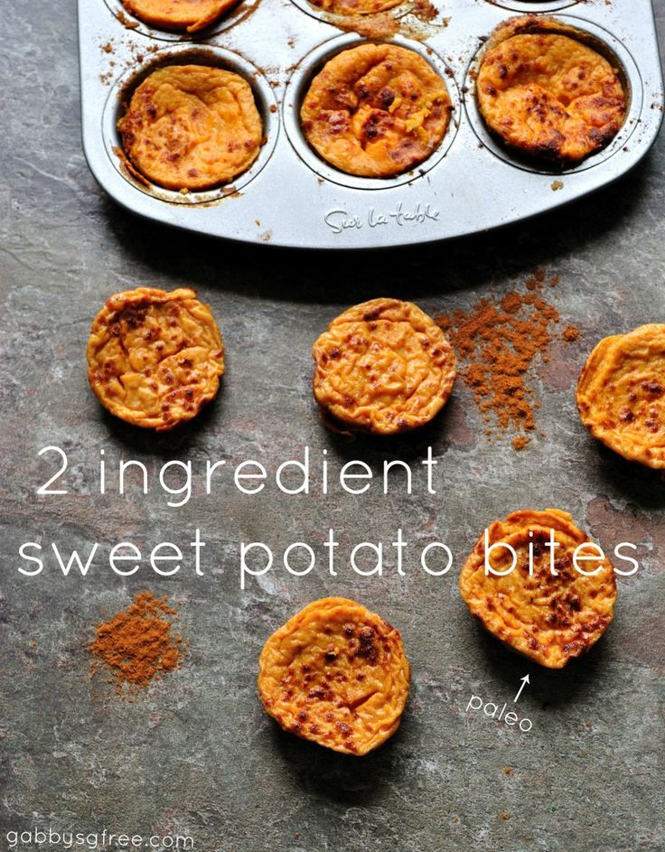2 ingredients!! Sweet Potato and egg white. 6 bites is about 11 gram of protein and only 130 cal!