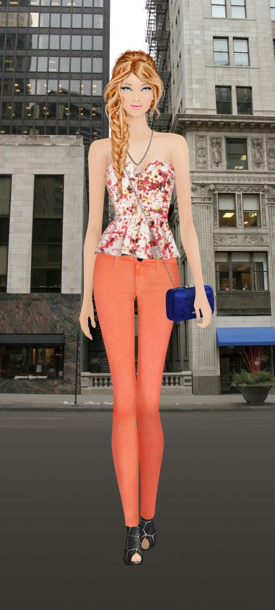 Look styled in Covet Fashion. I didn't make this: