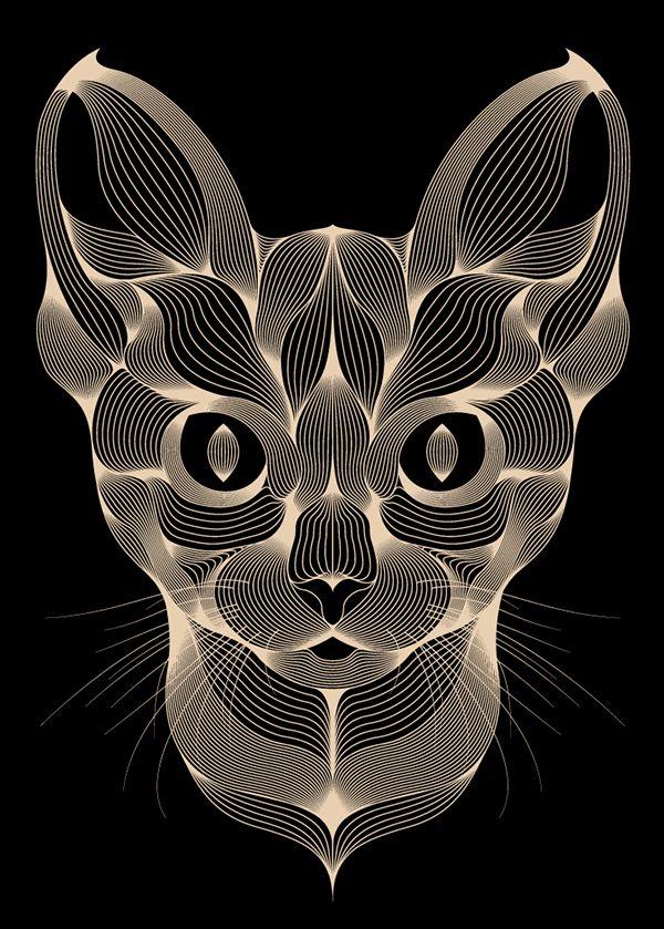 Le chat ouvrit les yeux le soleil y entra le chat ferma les yeux le soleil y resta voila pourquoi le soir quand le chat se réveille j'aperçois dans le noir deux morceaux de soleil.