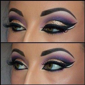 genie makeup ideas - Google Search                                                                                                                                                                                 More