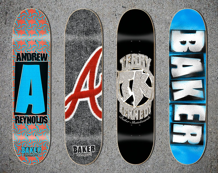 Baker Skateboard Graphics