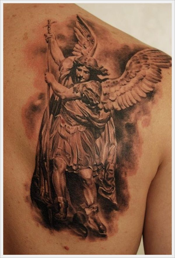 Mythological Tattoo Designs (42)