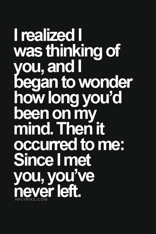 i realized i was thinking of you, and i began - Google Search