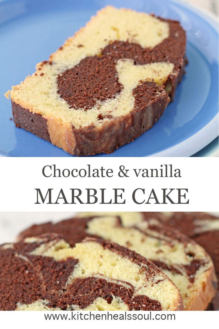 Chocolate and vanilla marble loaf cake recipe recipe in