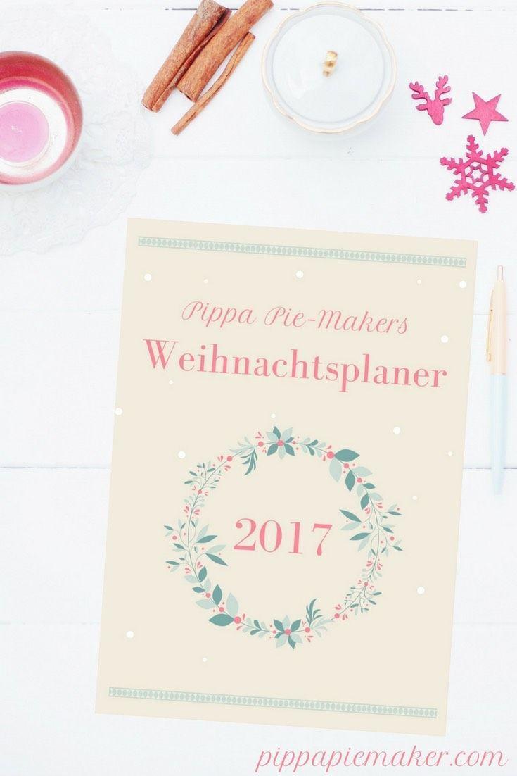 Möchtest du auch ein schön entspanntest Fest haben und trotzdem nicht auf ein festlich geschmücktes Zuhause, ein leckeres Menü und liebevoll ausgesuchte Geschenke verzichten? Dann fang am besten gleich an gleich an deinen Weihnachtsplaner auszufüllen! Geschenke Planer und Checklisten, Weihnachtspost Listen, Adventskalenderzahlen, Boxen Label, Tages- und Speiseplan für die Feiertage, Wunschzettel, Mamas Liste für den Weihnachtsmann und noch so viel mehr hält der Weihnachtsplaner für dich…