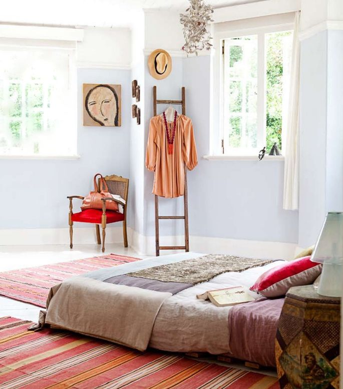 Wonderful. One of the rooms in a house should be like this..Bohemien woonstijl