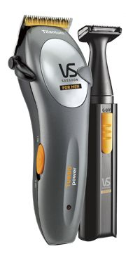 Metro™ Turbo Power - RRP$49.95  VSM318DNA  The METRO™ TURBO POWER Titanium Hair Clipper & Personal Grooming Kit System with 55 precision settings gives you the edge in looking good.  With Titanium blade technology, adjustable taper control & more power than standard clippers*, the Metro Turbo Power Haircut & Grooming System is a cut above the rest.  http://www.vssassoon.com.au/products/mens/VSM318DNA.aspx