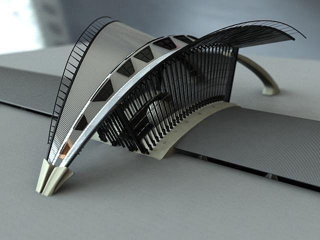 Lyon Station Model Calatrava