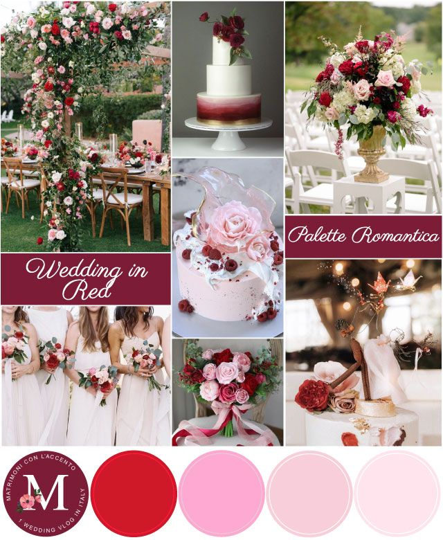 Palette Per Matrimonio Rosso Romantico Rosso Bordeaux E Sfumature Di Rosa C Roberta Patane Weddings Nel 2020 Matrimonio Rosso Matrimonio Bordeaux Idee Per Matrimoni