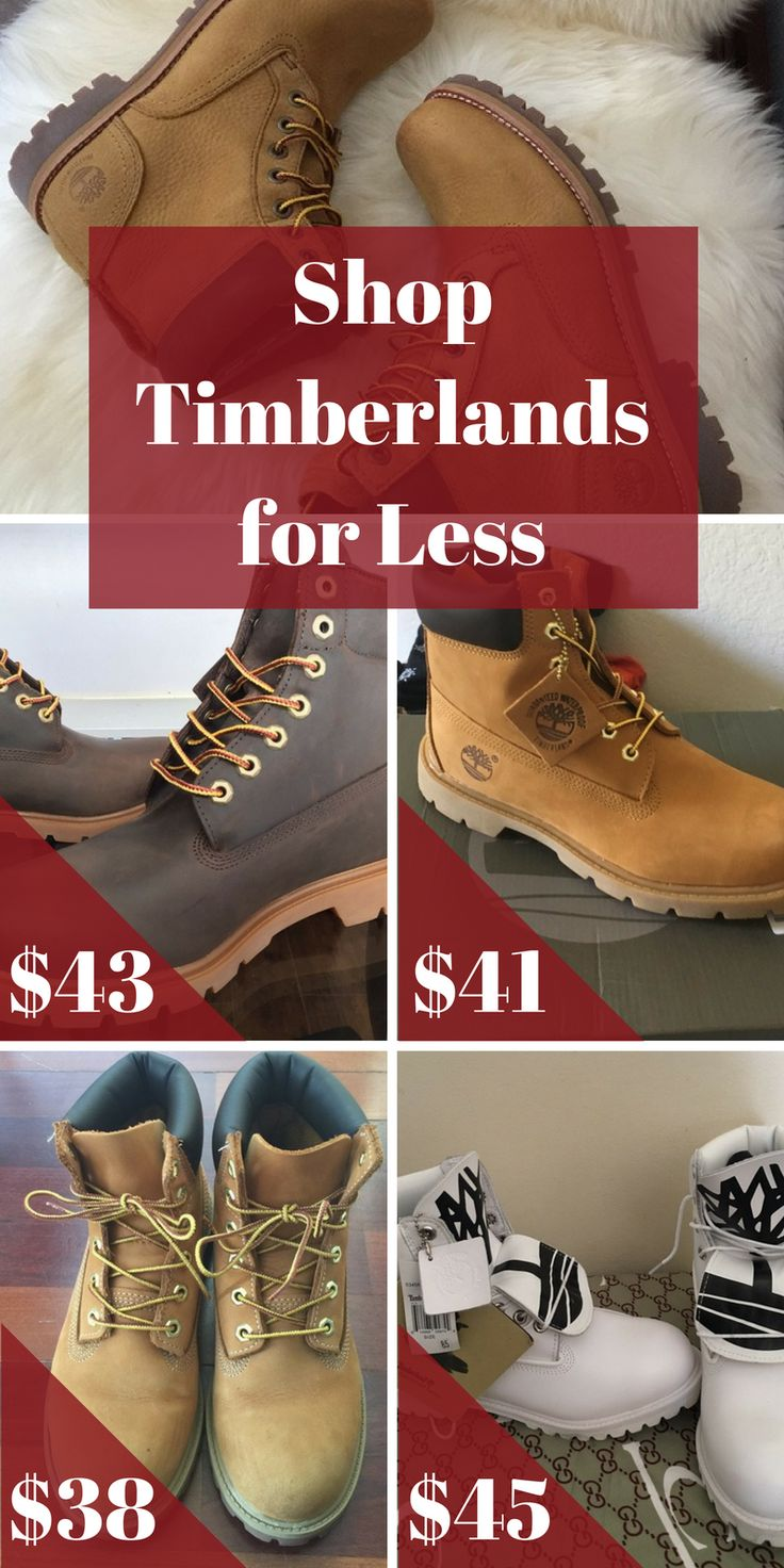 Shop Timberlands for less when you install the FREE Poshmark app. Find brand new and pre-loved Timberland boots at up to 70% off. Download today to take advantage of unbelievable daily deals!