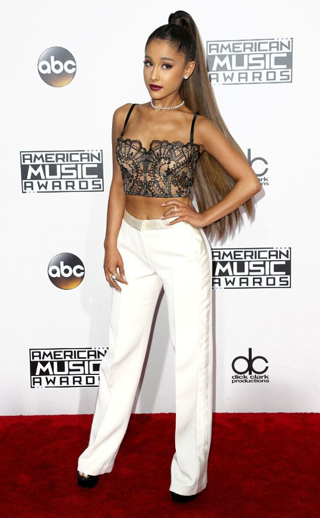 Ariana Grande from 2016 AMAs Red Carpet Arrivals