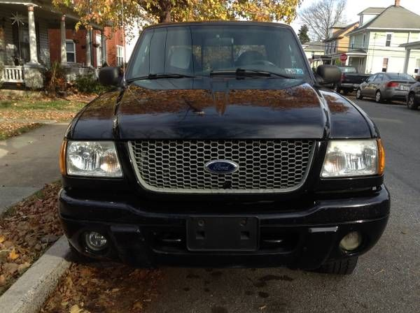Make:  Ford Model:  Ranger Year:  2003  Exterior Color: Black Interior Color: Black Doors: Four Door Vehicle Condition: Good   Phone:  717-756-6336   For More Info Visit: http://UnitedCarExchange.com/a1/2003-Ford-Ranger-540457310468