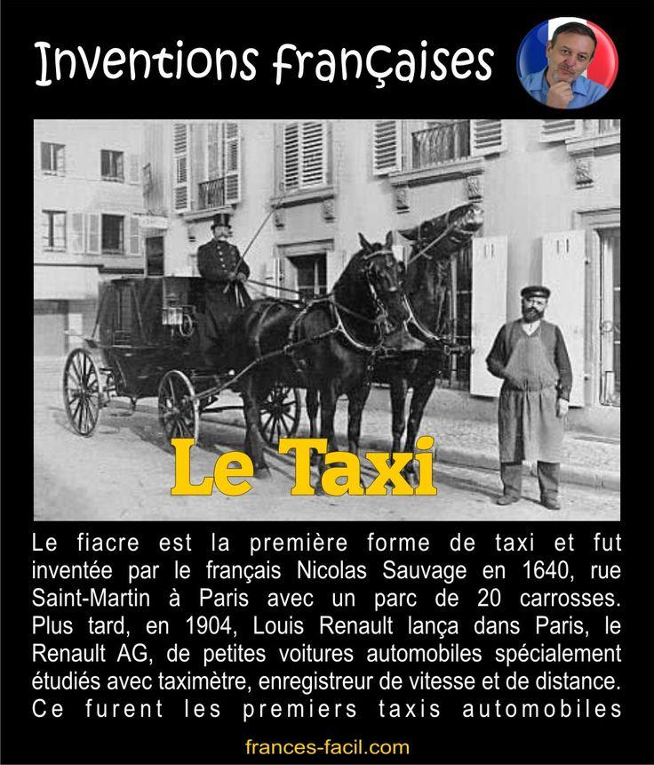 Le taxi, une invention française