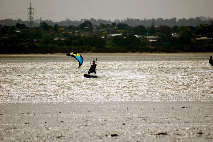 Point Chev' Kite Cruising