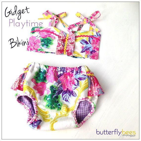 Custom order  Gidget Playtime bikini by Butterflybees on Etsy