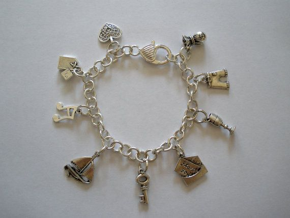 Fifty Shades of Grey inspired Charm Bracelets by ArmCandySquared, $9.99