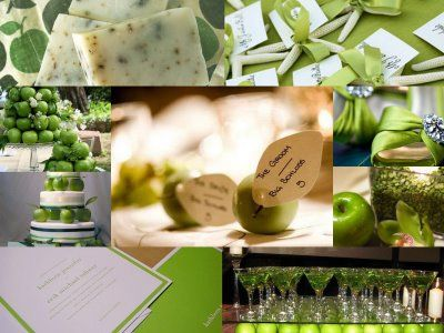 43 best apple wedding images on pinterest apples green wedding color wedding a green apple kind of day revel and glitter junglespirit Images