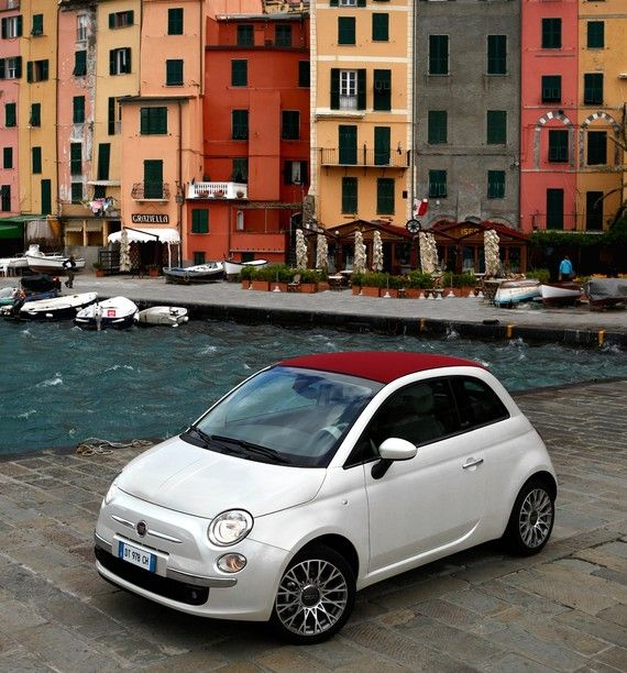 Fiat 500C - a nice and fresh look on the car for women