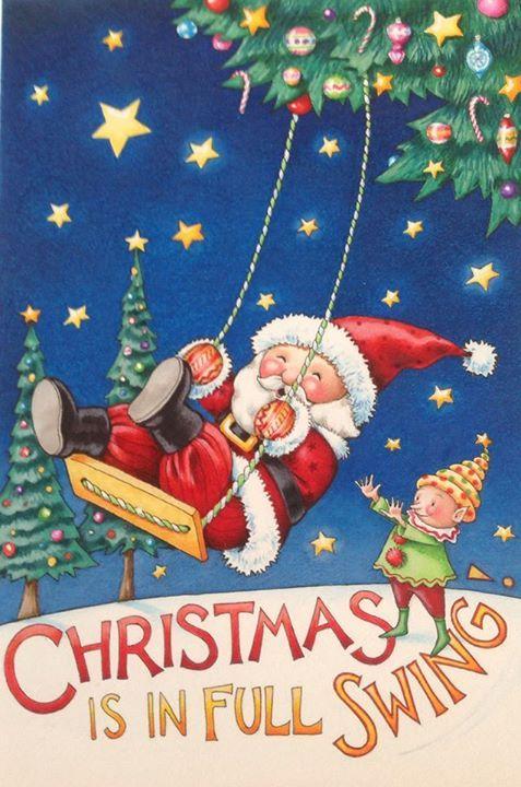 Mary Engelbreit - Christmas is in full swing
