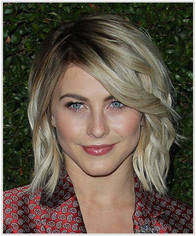 Julianne Hough New Bob | Julianne Hough Medium Wavy Hairstyle