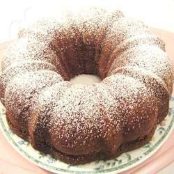 Recipe photo: Peach ginger cake